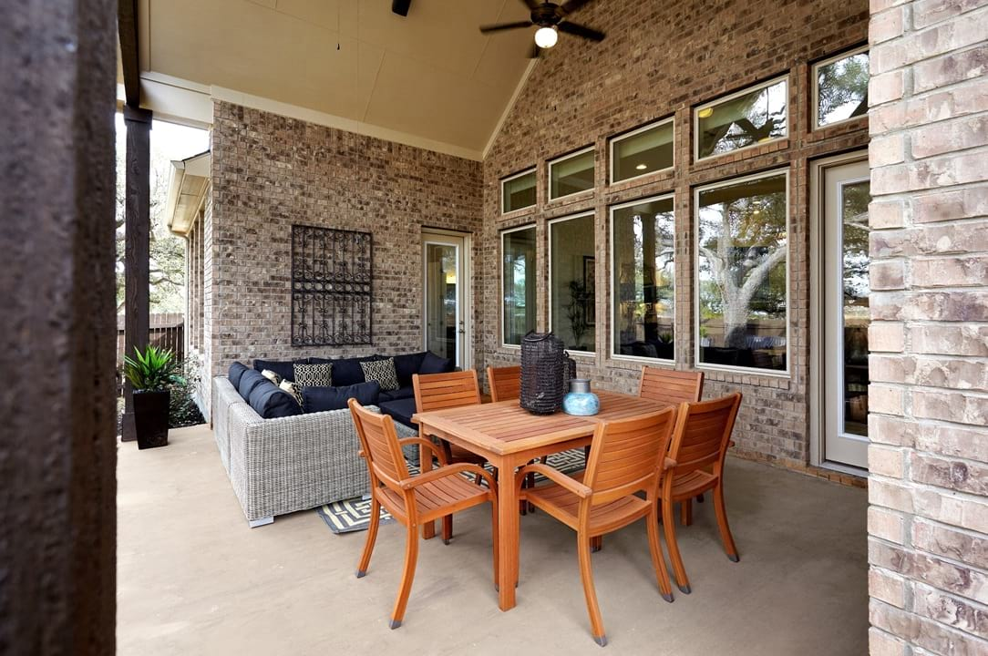 New Homes For Sale New Home Construction Gehan Homes Outdoor - Patio homes austin tx