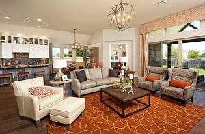 Villanova Open Living Room