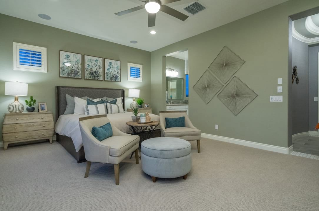 New Home Construction Gehan Homes Master Bedroom Gallery