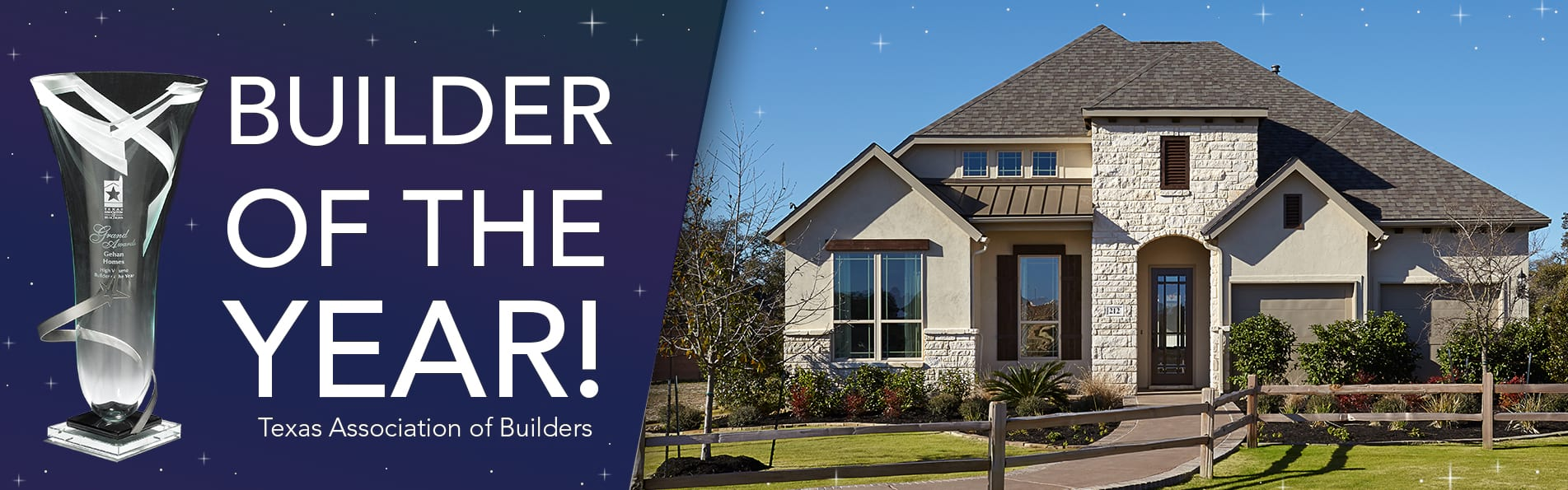 Gehan Homes 2017 Builder of the Year Award