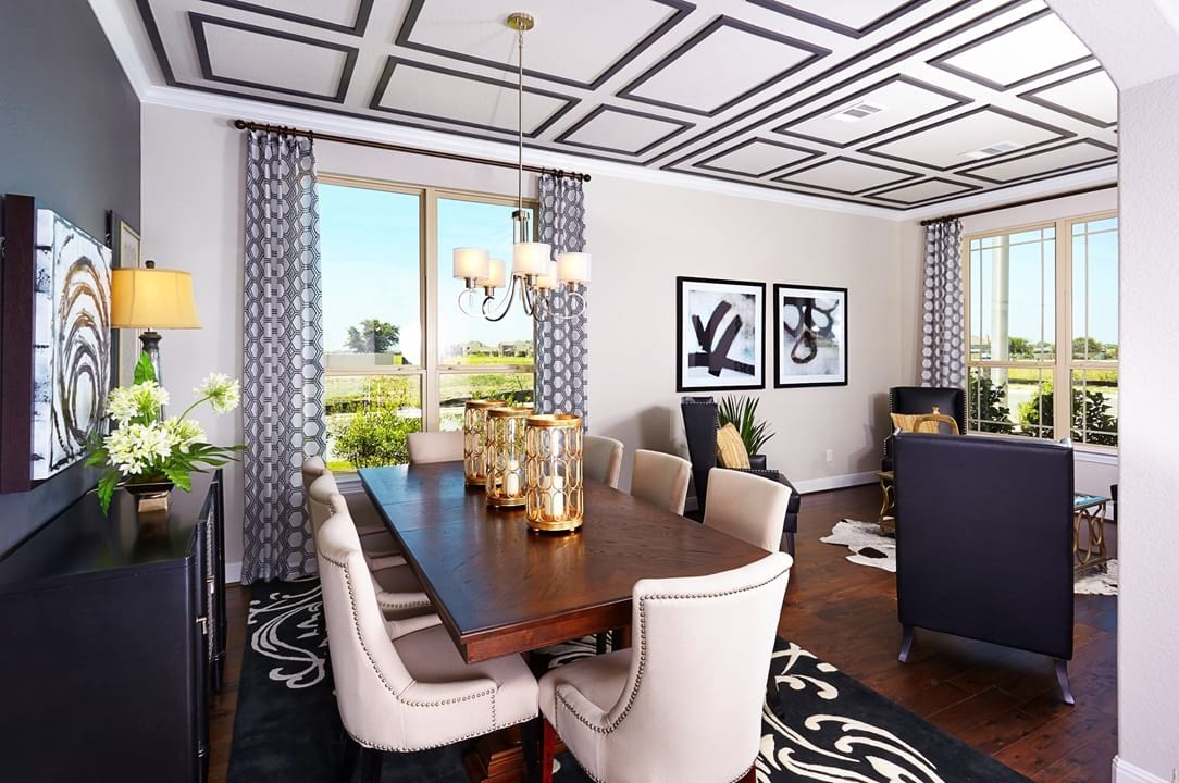Dining Room New Home Photo Gallery Gehan Homes